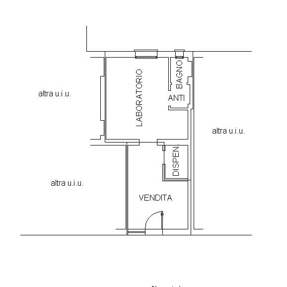 Affitto - Negozio - Parco Talon - Casalecchio di Reno - € 550