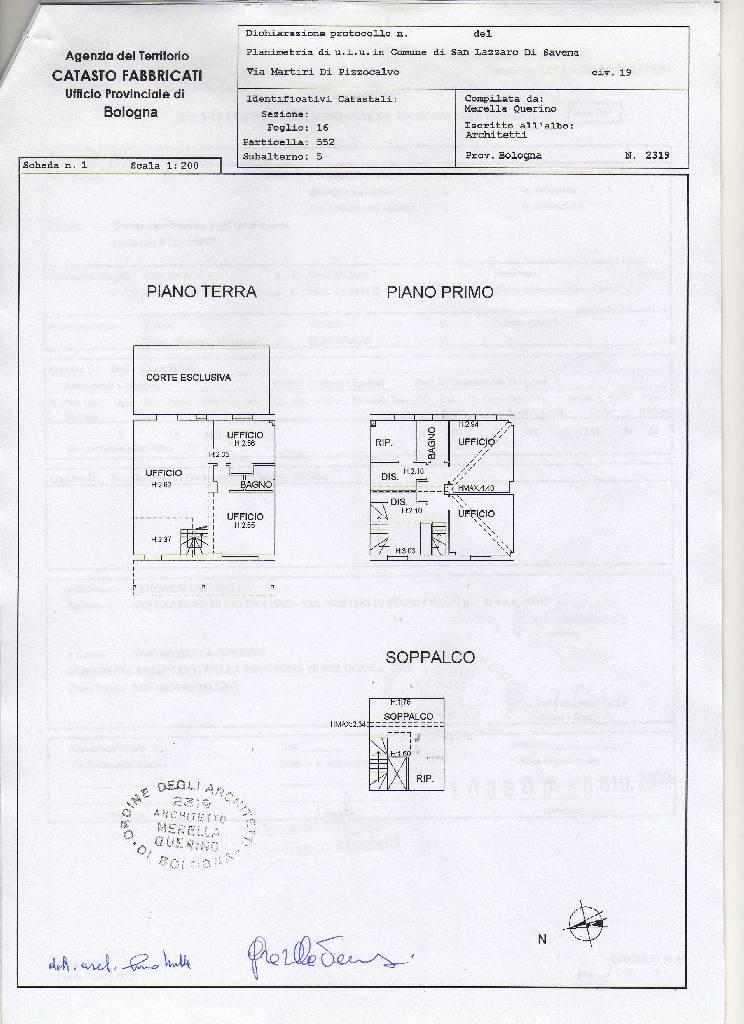 affitto villa trifamiliare San Lazzaro
