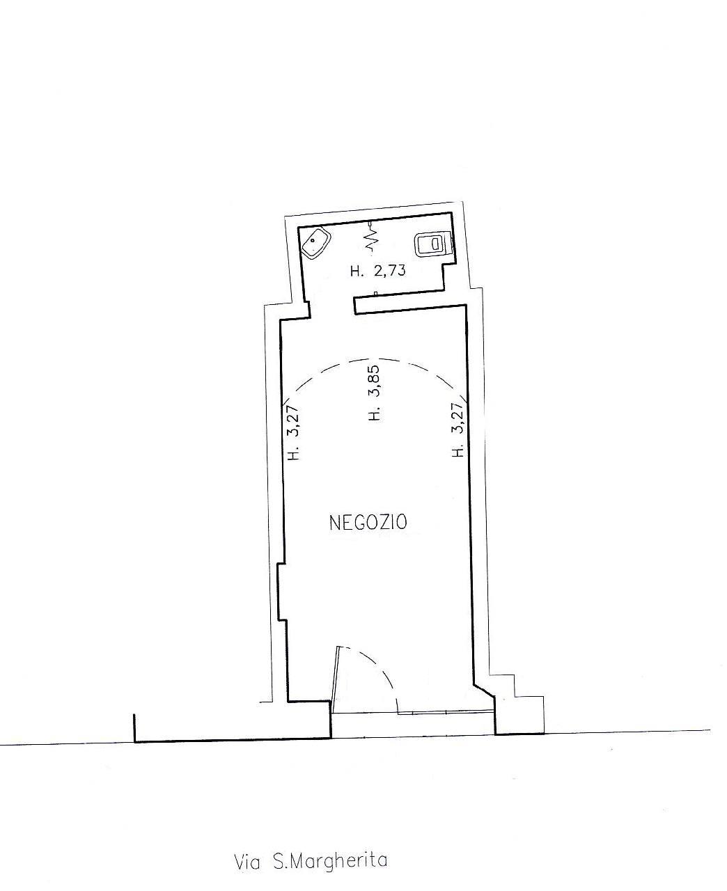 Affitto - Negozio - D Azeglio - Bologna - € 550