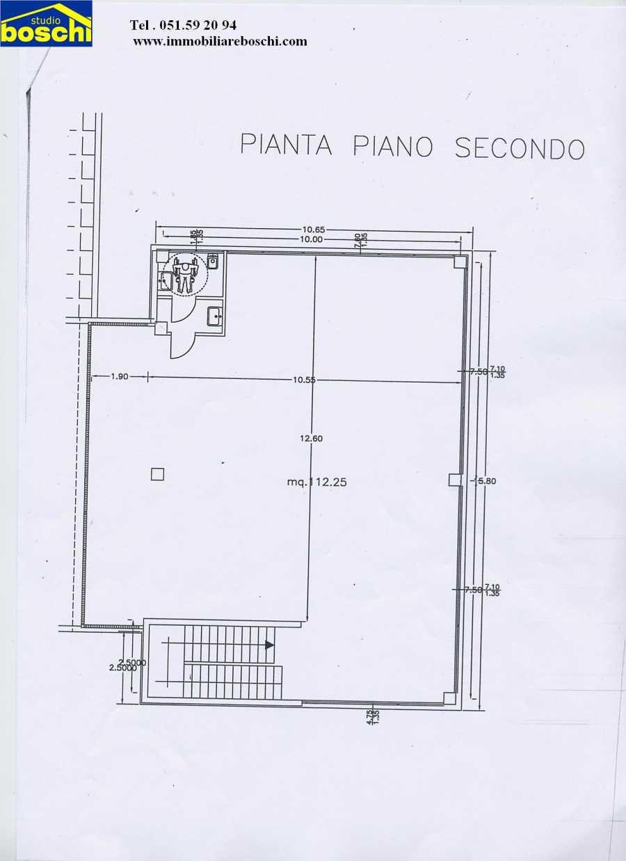Affitto - Ufficio - Centro - Casalecchio di Reno - € 120
