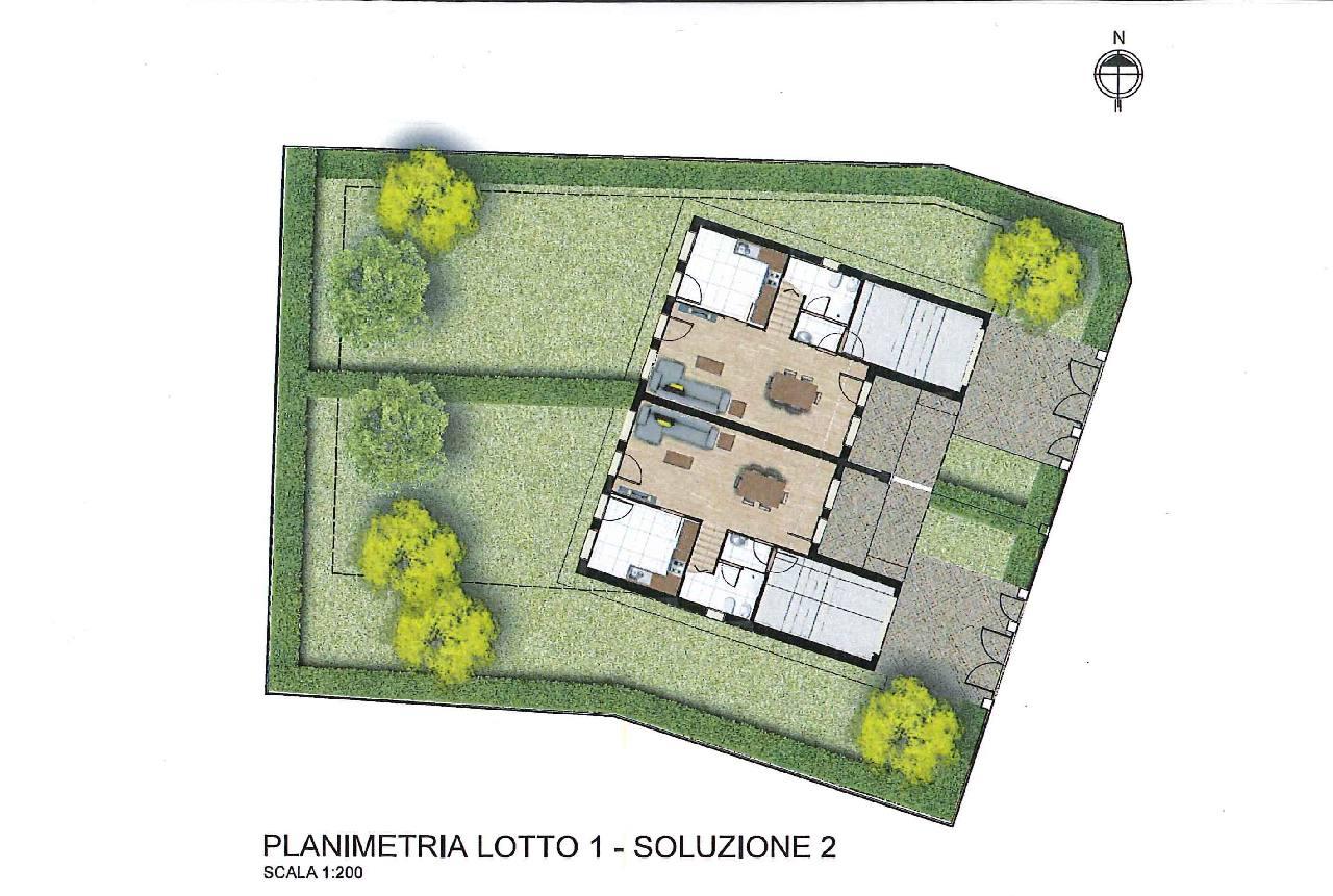 Villa Abbinata in vendita Reggio Emilia Zona Orologio