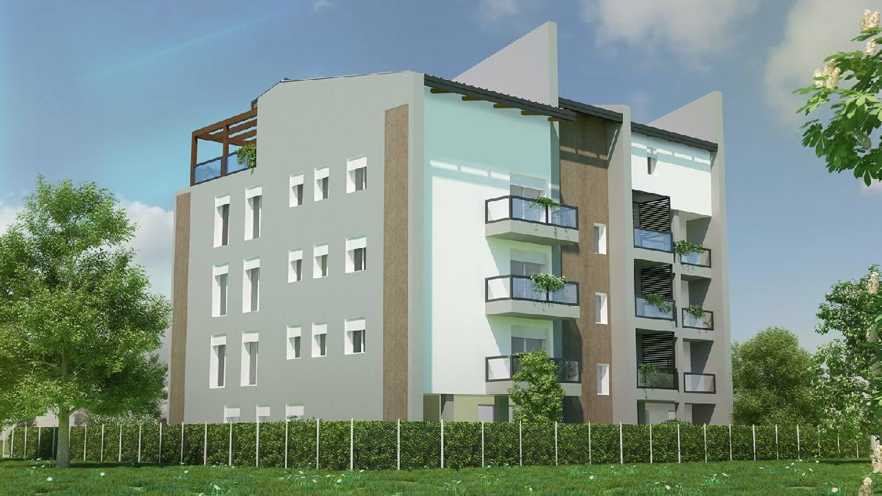 Attico in vendita Modena Zona Villaggio Zeta