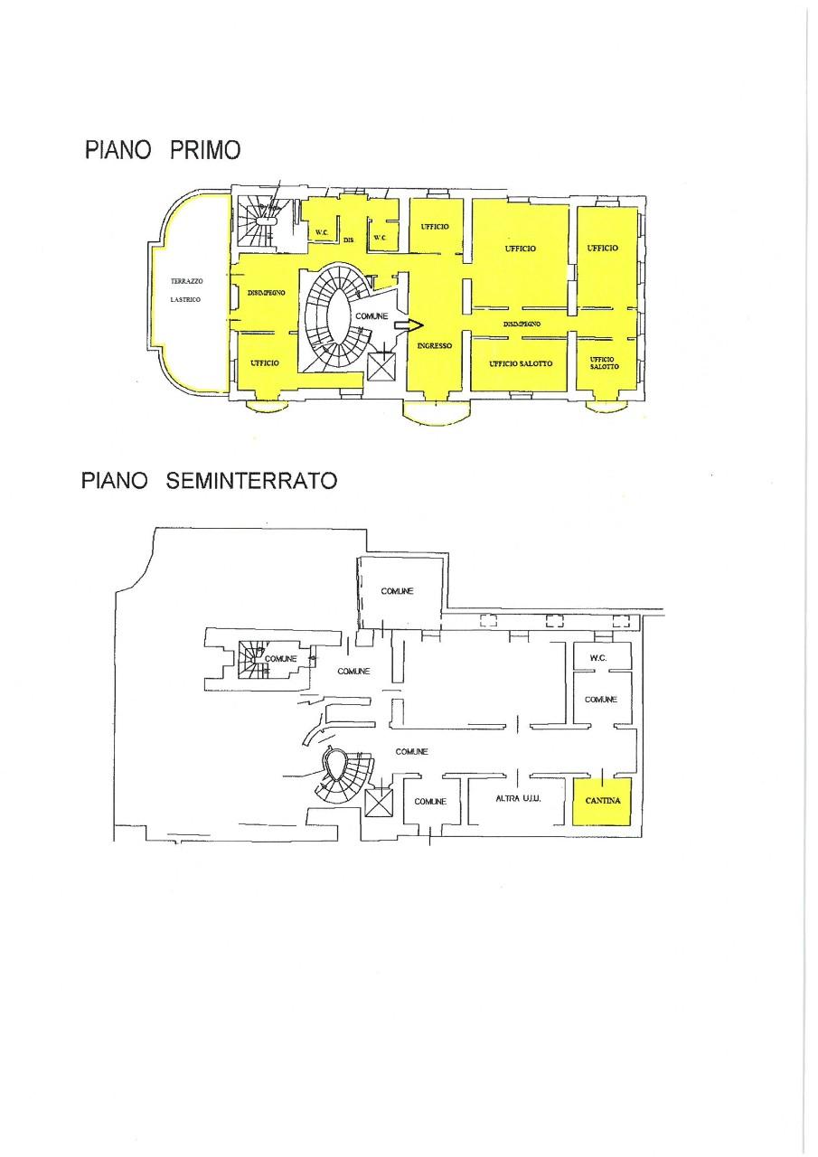 Ufficio in affitto Bologna Colli Castiglione