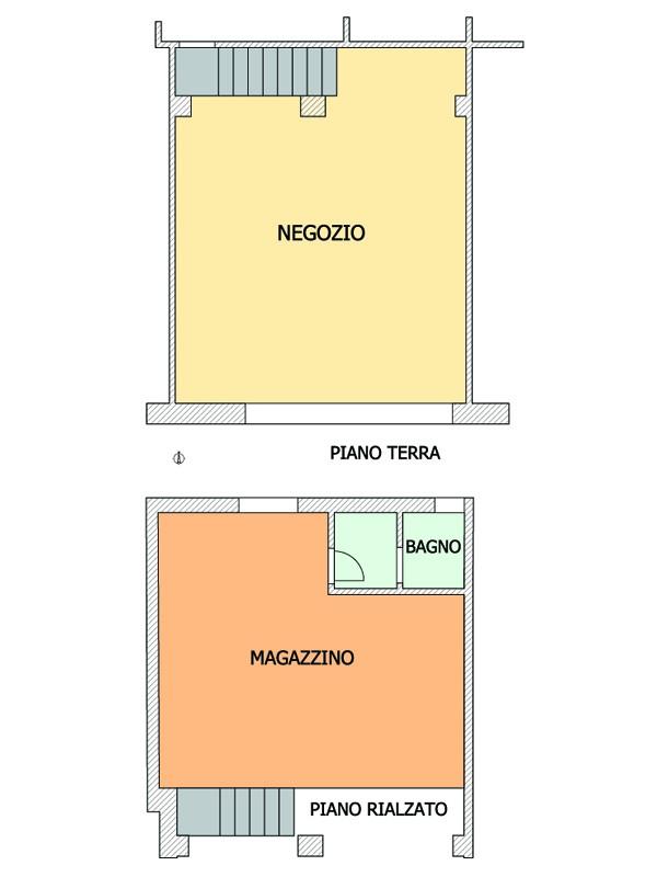 Negozio in vendita Modena Zona Viali