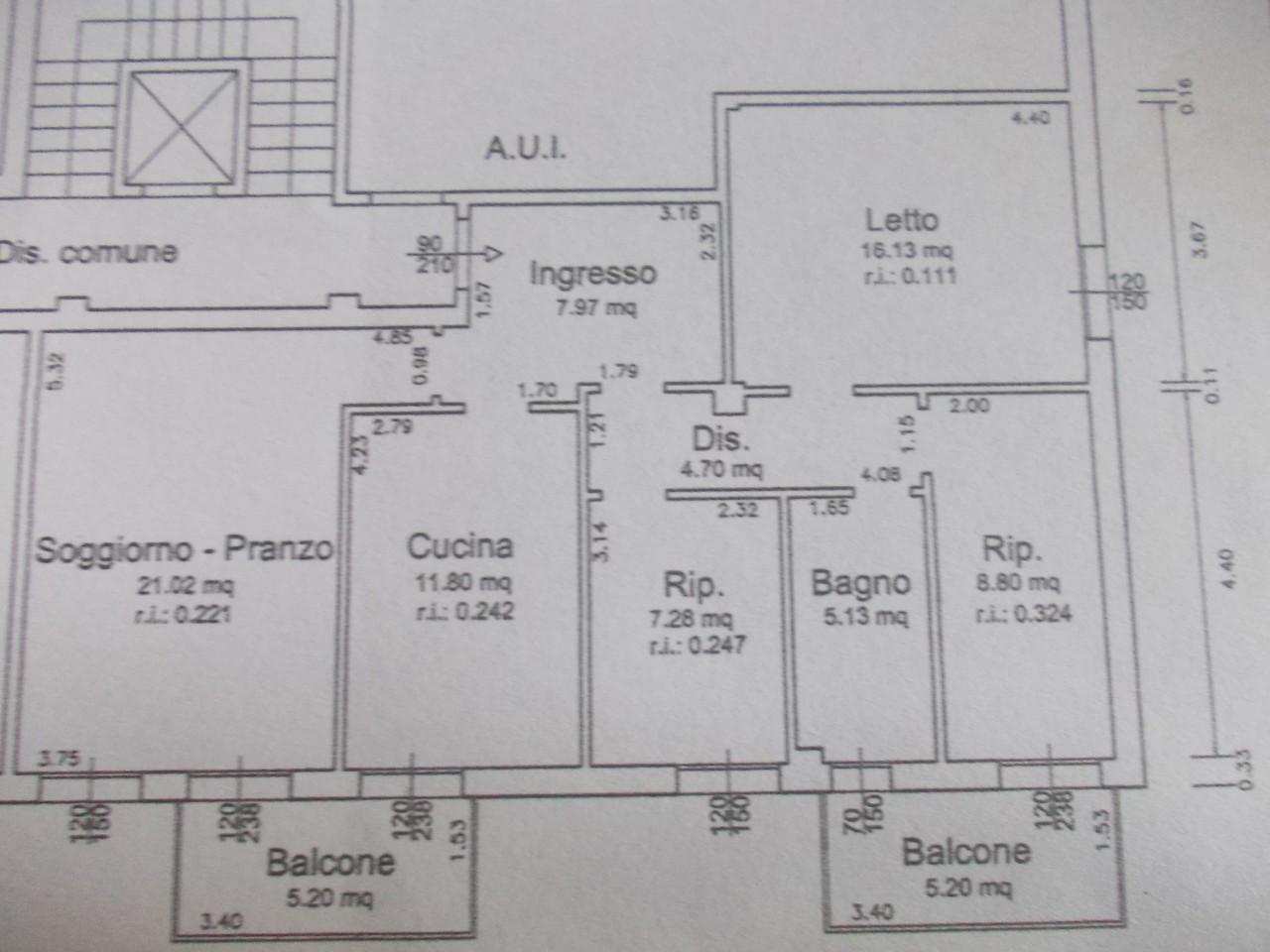 Appartamento in vendita Ravenna Zona Zalamella