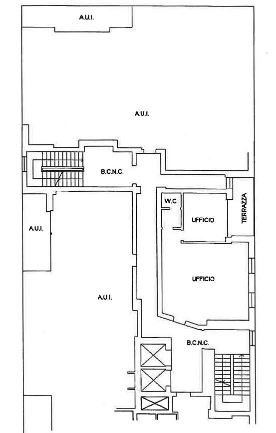 Ufficio in affitto Caselle