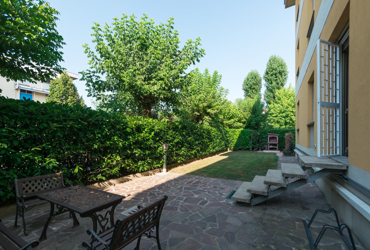appartamento con giardino Argelato