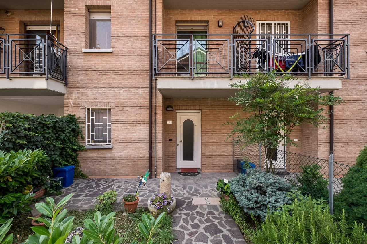 appartamento con giardino Funo