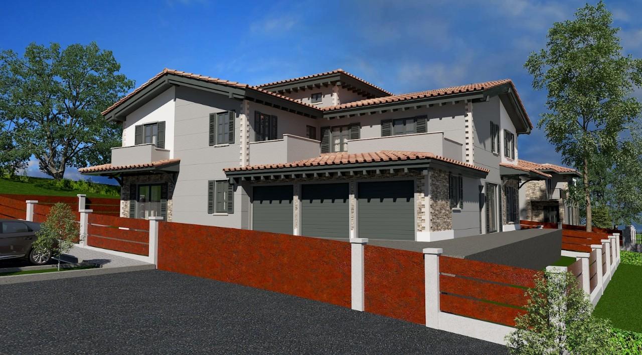 Villa Trifamiliare in vendita Reggio Emilia Zona San Maurizio