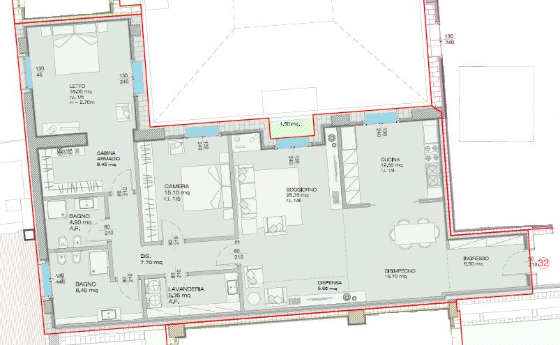 Appartamento in affitto Reggio Emilia Zona Centro storico