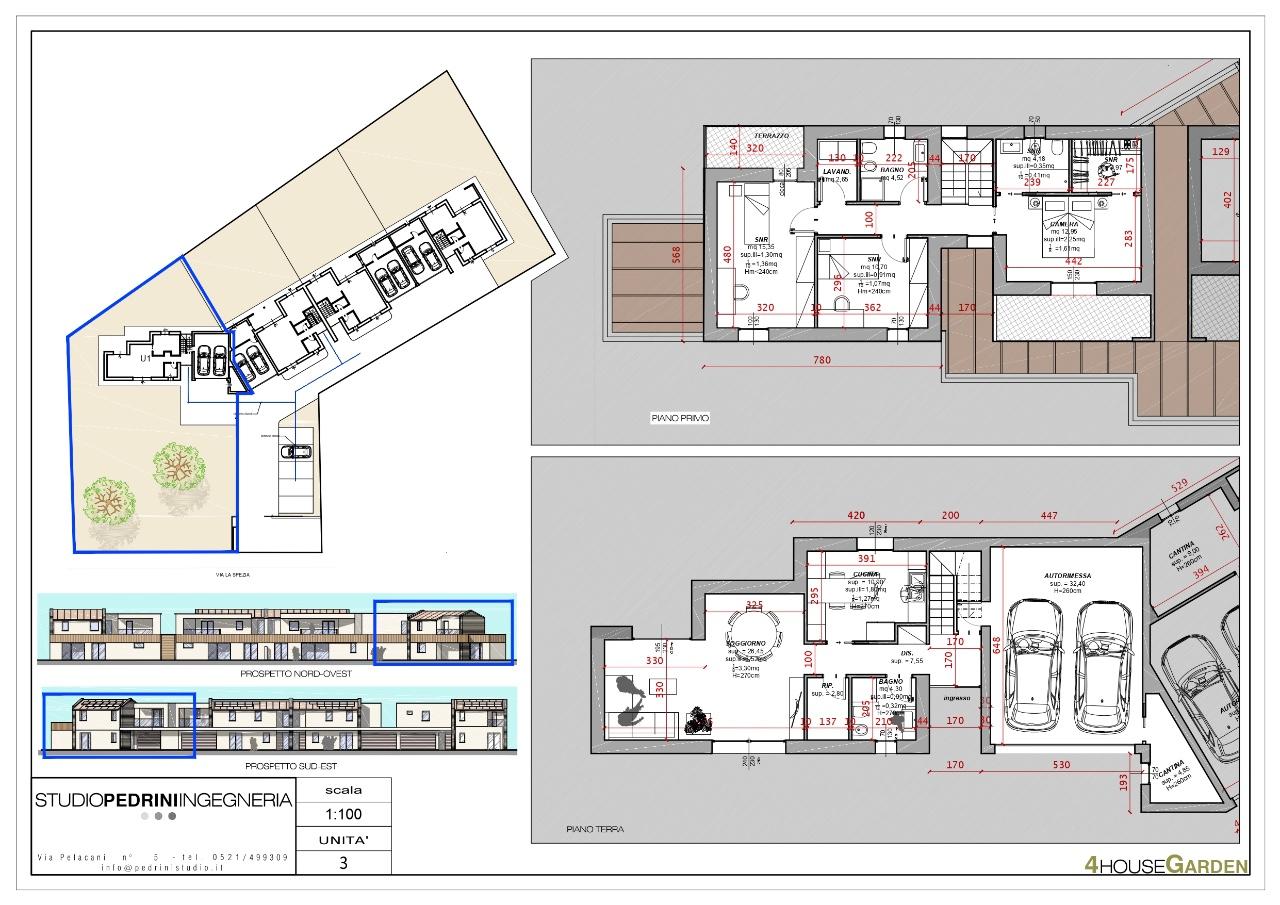 Casa Indip. in vendita Parma Zona Via La Spezia